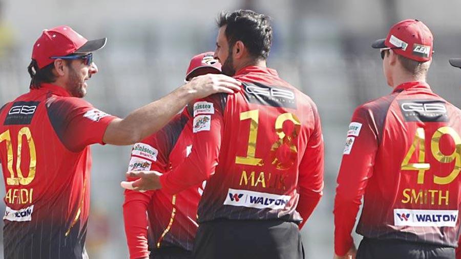 BPL: Comilla beat Sylhet by 4 wickets