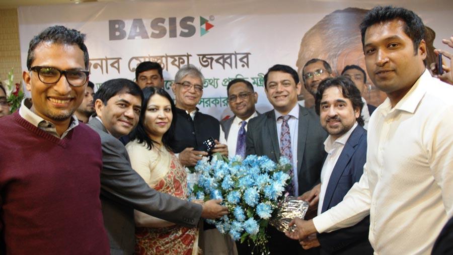 Mustafa Jabbar in BASIS office