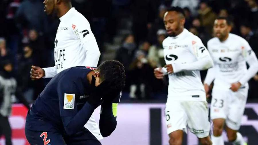 PSG out of French League Cup, Monaco progress