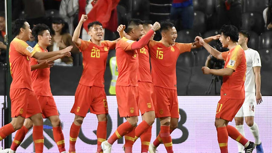 China, Korea advances to Asian Cup last 16