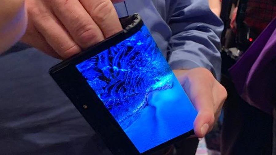 World's first folding smartphone launches at CES