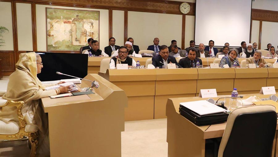 PM urges cabinet to fulfill people's expectations