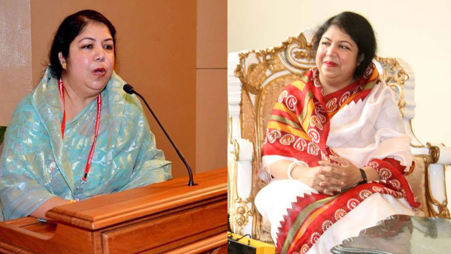 Shirin Sharmin re-elected speaker for third time