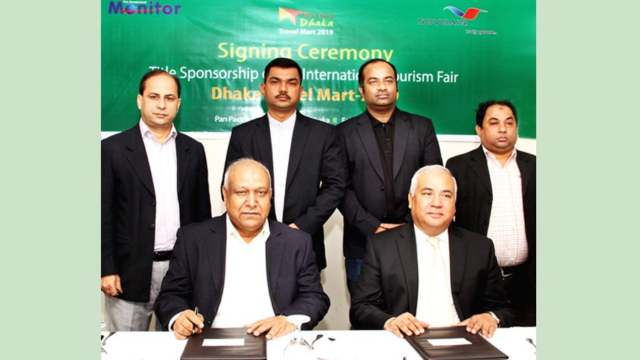 NOVOAIR becomes title sponsor of Dhaka Travel Mart