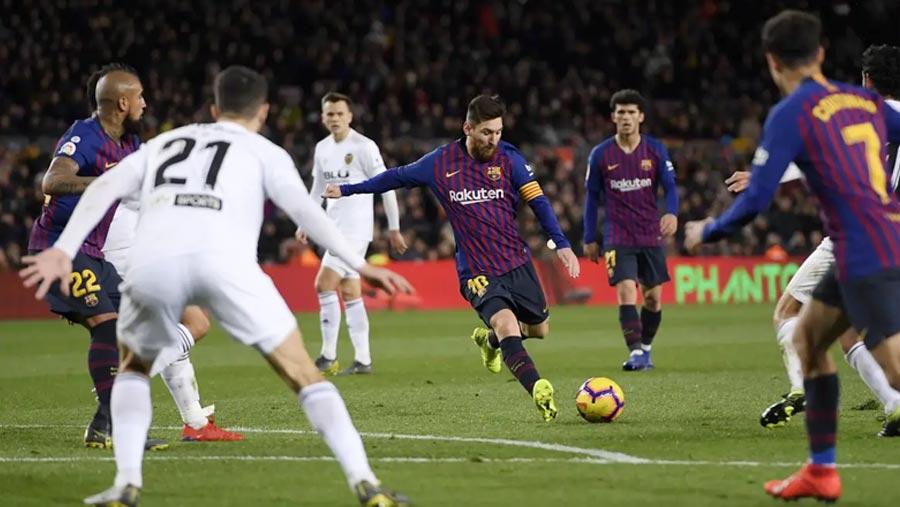 La Liga: Barcelona 2-2 Valencia