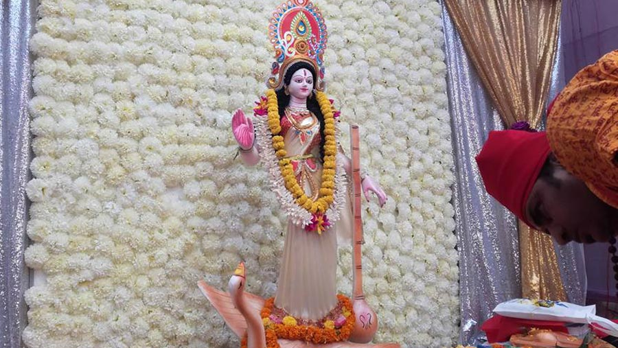 Saraswati Puja today