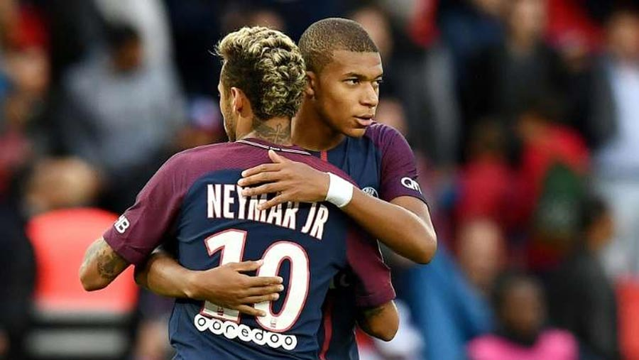 Neymar & Mbappe '2000 per cent' staying at PSG