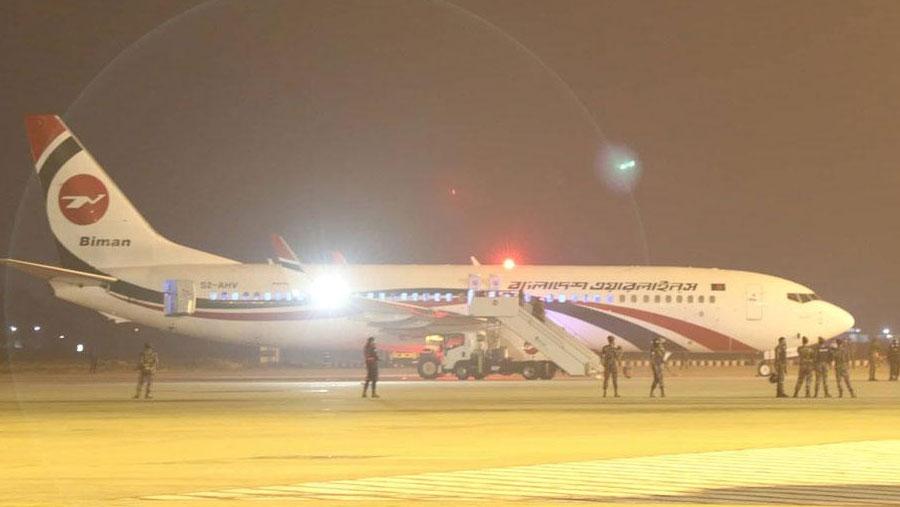 Biman aircraft 'hijack' bid foiled; suspect shot dead