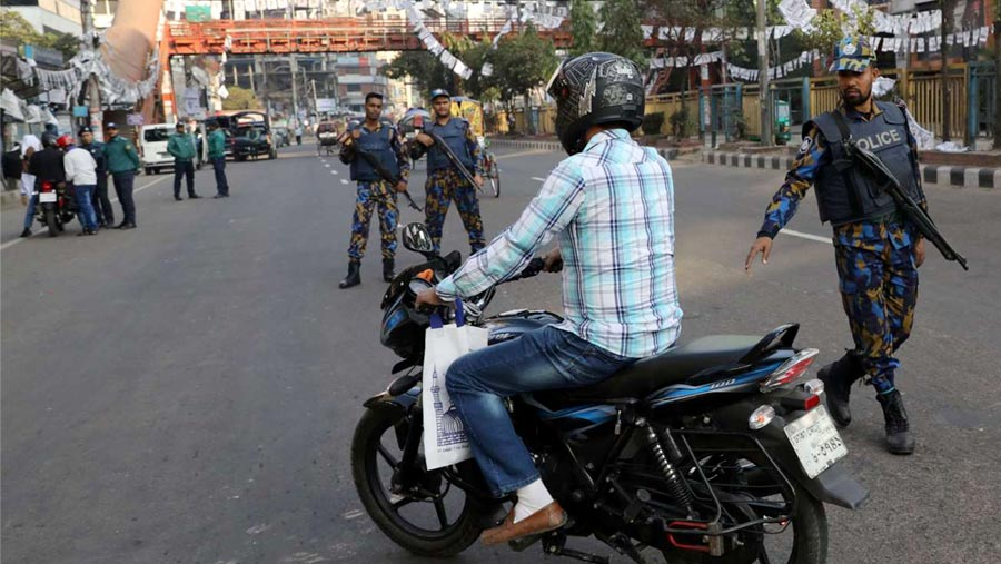 Ban on motorcycle ply from Tuesday night