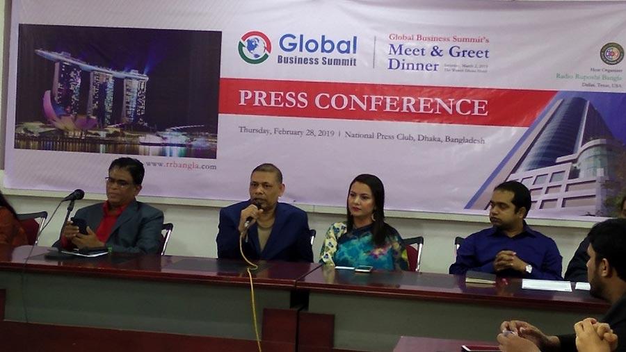 Global Business Summit on Nov 29-30