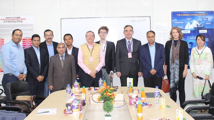 EU delegation visits PRAN factory