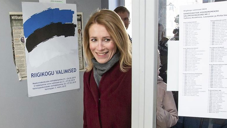 Opposition party wins Estonia election