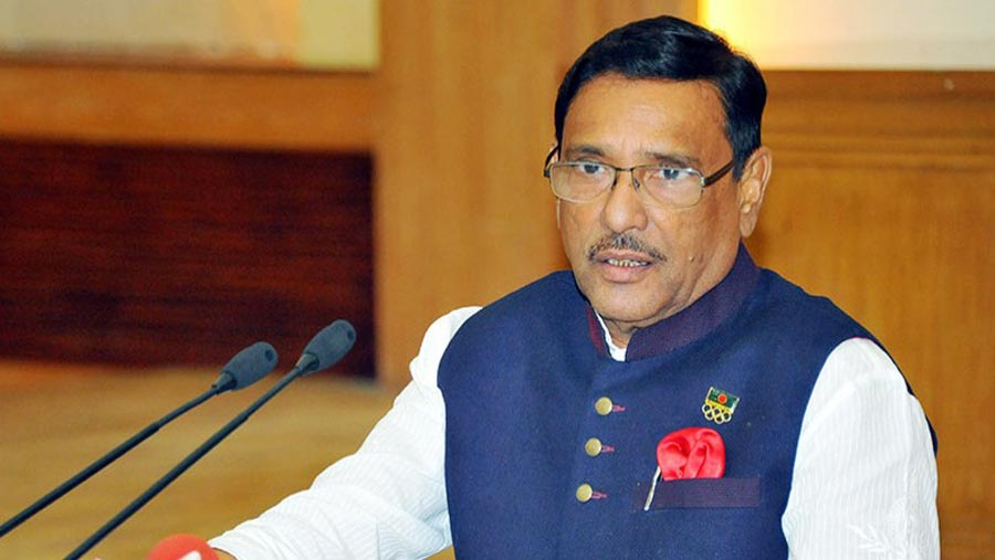 Quader reaches Singapore for better treatment
