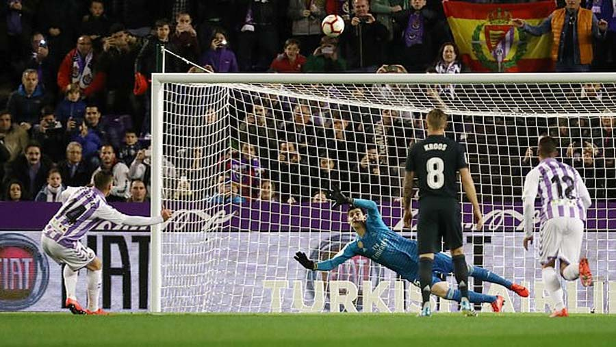 Real bounces back with win over Valladolid