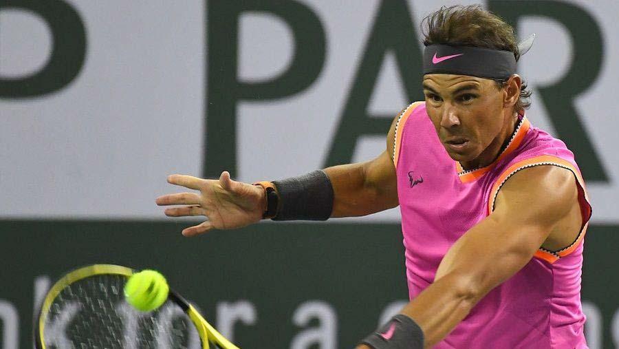 Nadal sweeps into Indian Wells last 16