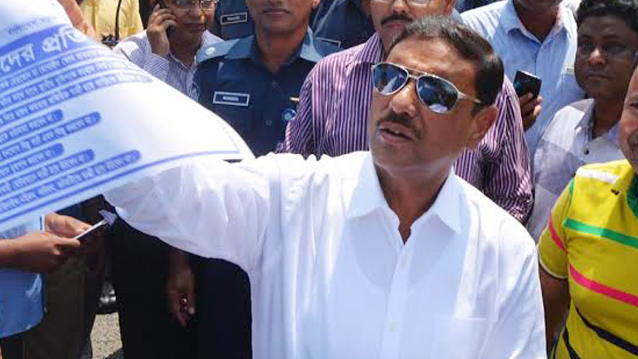 Obaidul Quader's bypass surgery next week