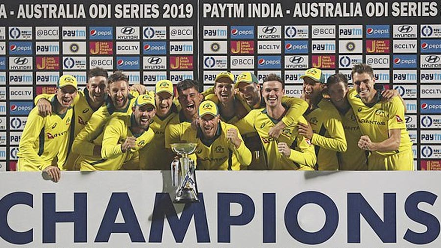 Australia beat India, clinch series 3-2