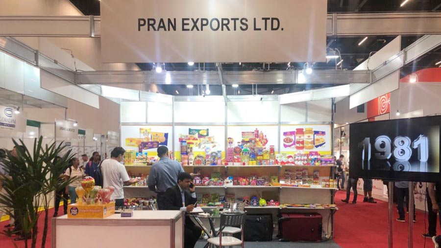 PRAN at ANUFOOD Fair to expand market in S. America