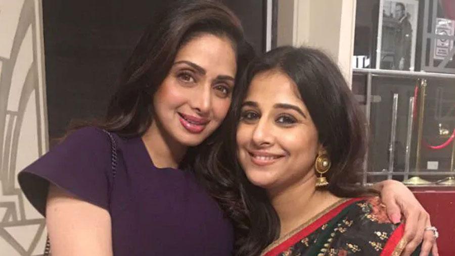 Vidya willing to star in Sridevi biopic