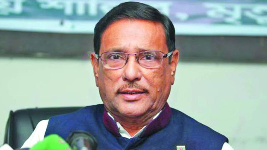 Obaidul Quader talks to physician