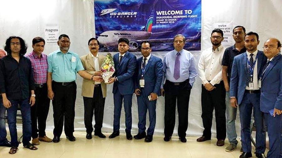 US-BANGLA starts flight to Chennai