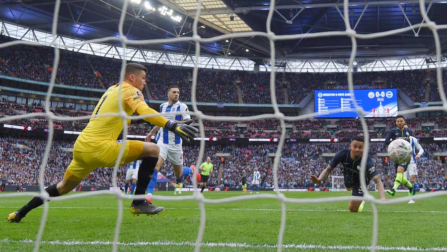 Manchester City reach FA Cup final