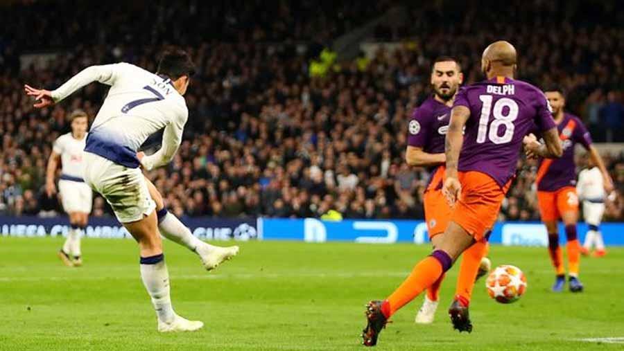 Son scores Champions League winner