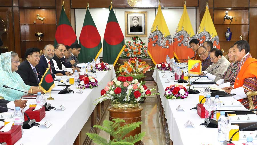 Dhaka, Thimphu agree to work on DFQF access of products
