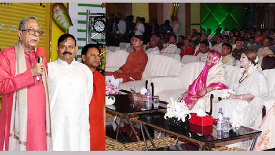 President attends Pohela Boishakh's function