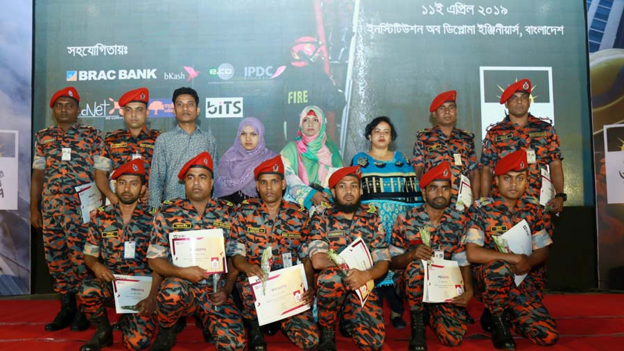 BRAC pays honour and gratitude to fire-fighters