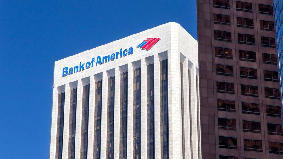 Bank of America reports higher profits