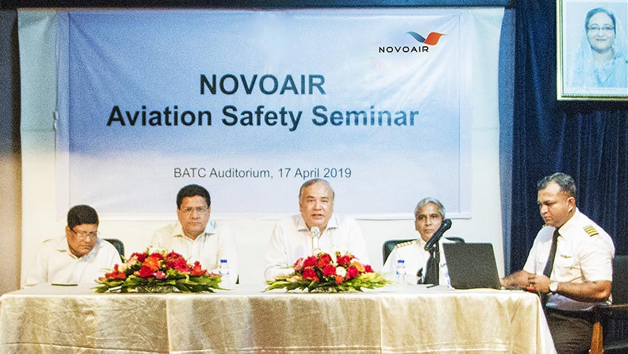 Aviation safety seminar held