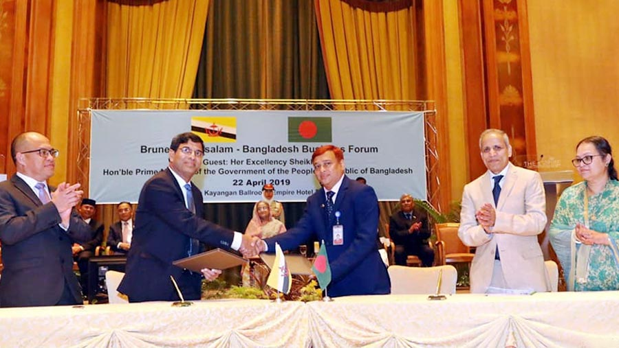 Bangladesh, Brunei sign seven instruments