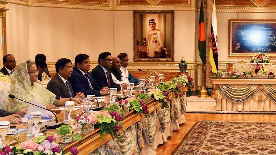 Bangladesh, Brunei enjoy excellent ties, says PM