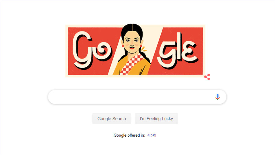 Google doodle celebrates 73rd birth anniversary of Rosy