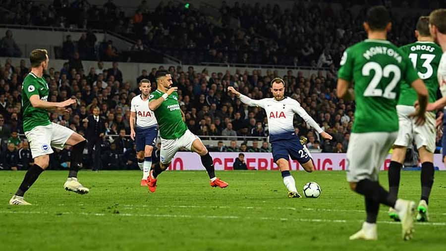 Eriksen goal gives Spurs vital win
