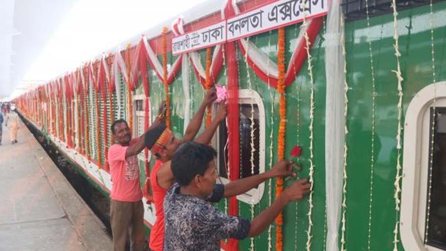 'Banolata Express' starts test run