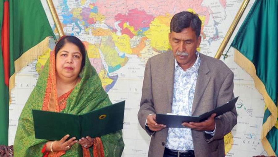 BNP MP Jahidur Rahman takes oath