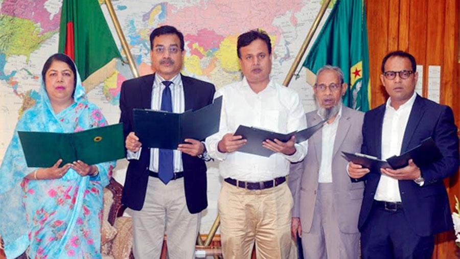 Four BNP MPs-elect take oath