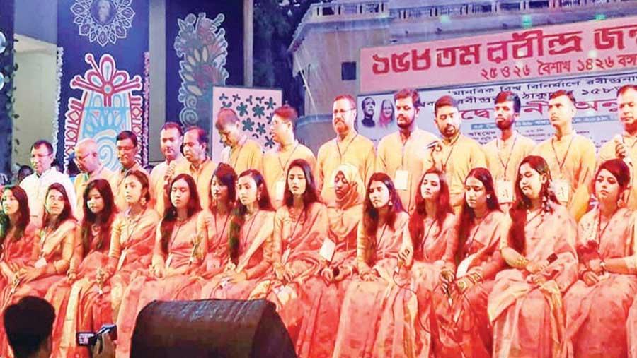 Rabindra festival held at Sirajganj