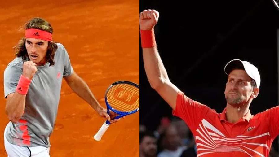 Tsitsipas stuns Nadal to set up showdown with Djokovic
