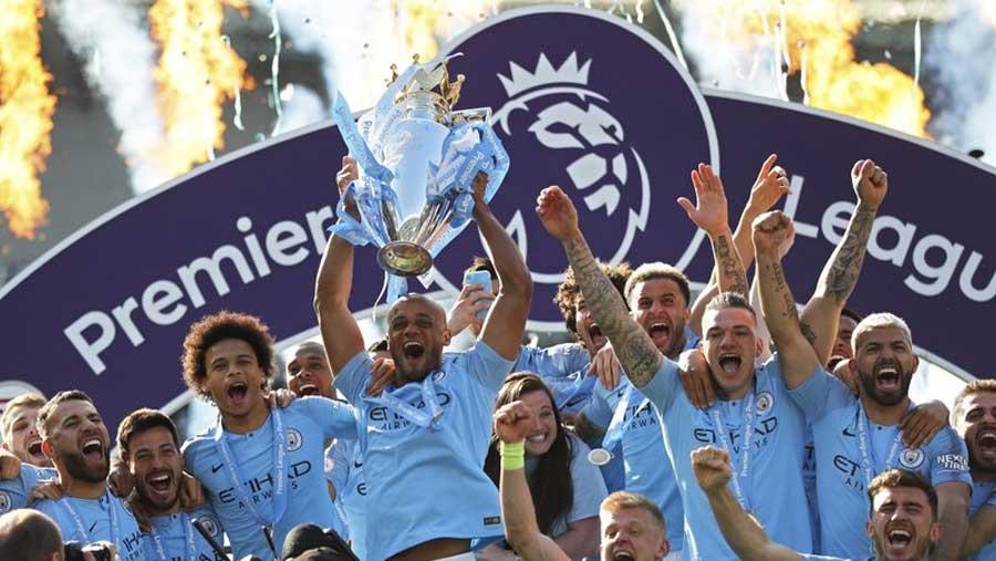 Man City retains Premier League title