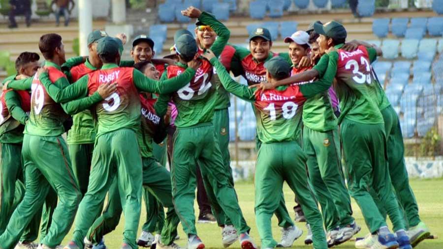 Bangladesh U-16 clinch one-day series