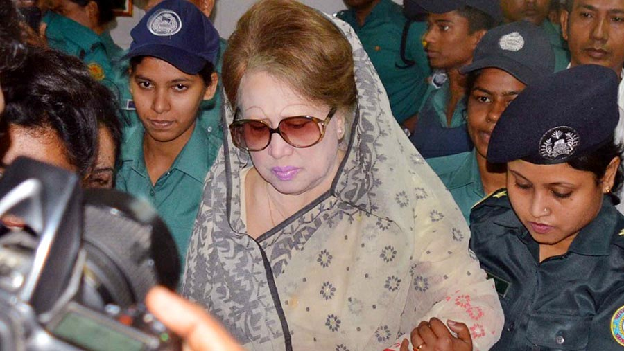 Khaleda will be shifted to Keraniganj jail