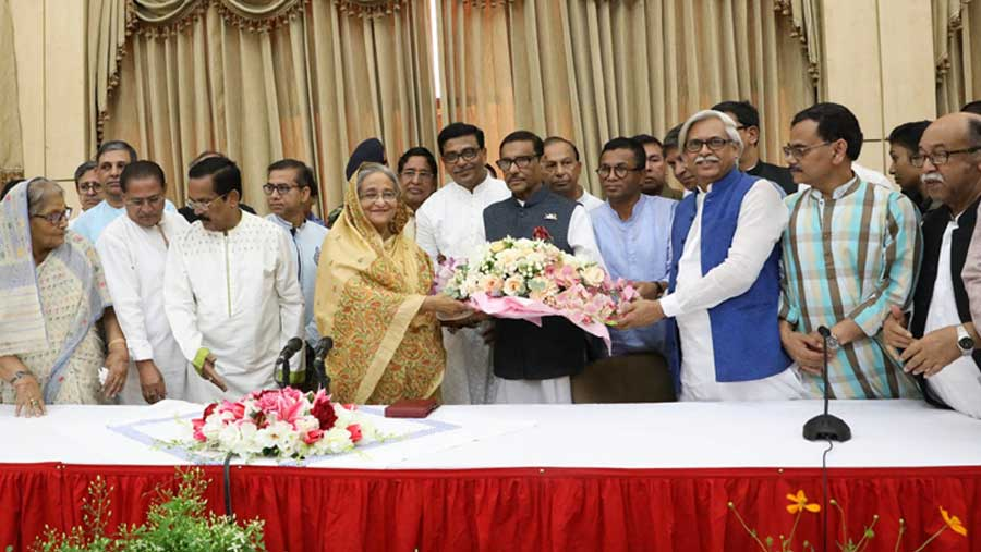 Sheikh Hasina's homecoming day