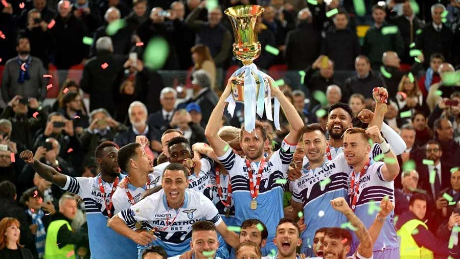 Lazio win seventh Coppa Italia