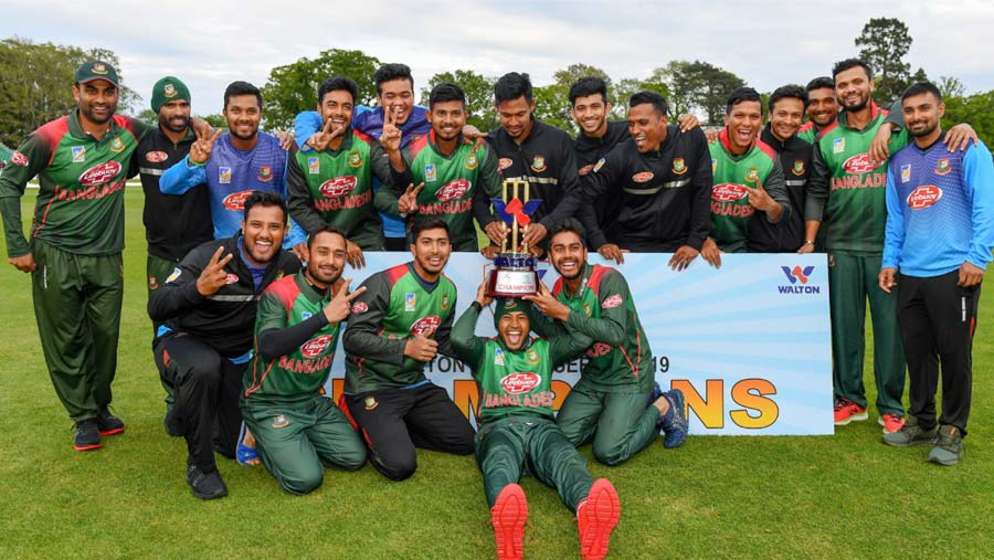 Tigers beat West Indies to win maiden title