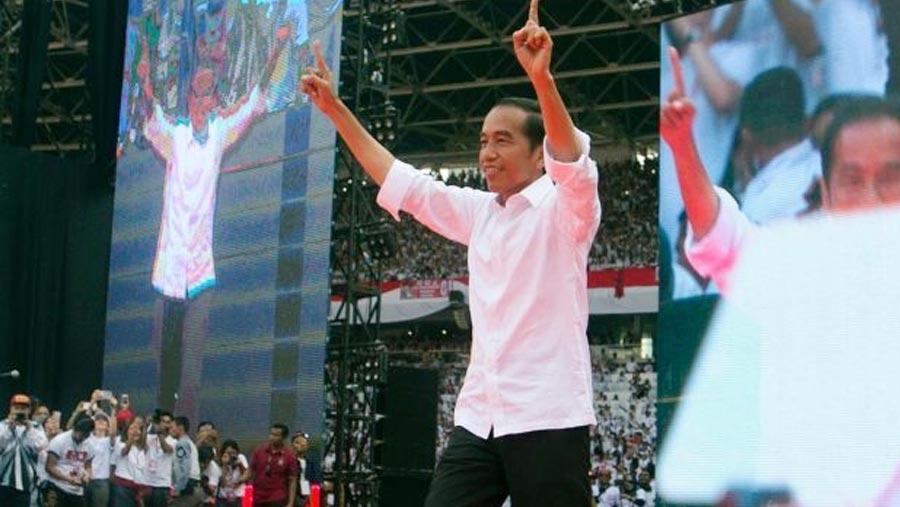 Joko wins re-election in Indonesia
