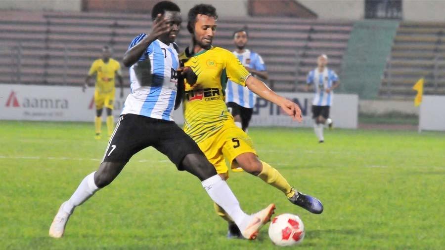 Sheikh Jamal thrash Rahmatganj 4-0