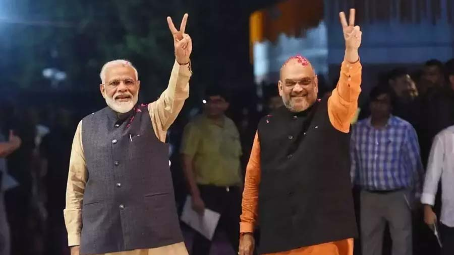 BJP takes 303 of 542 seats in election win